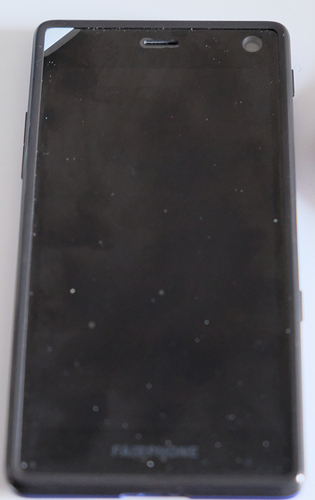 image of the phone with the white tab