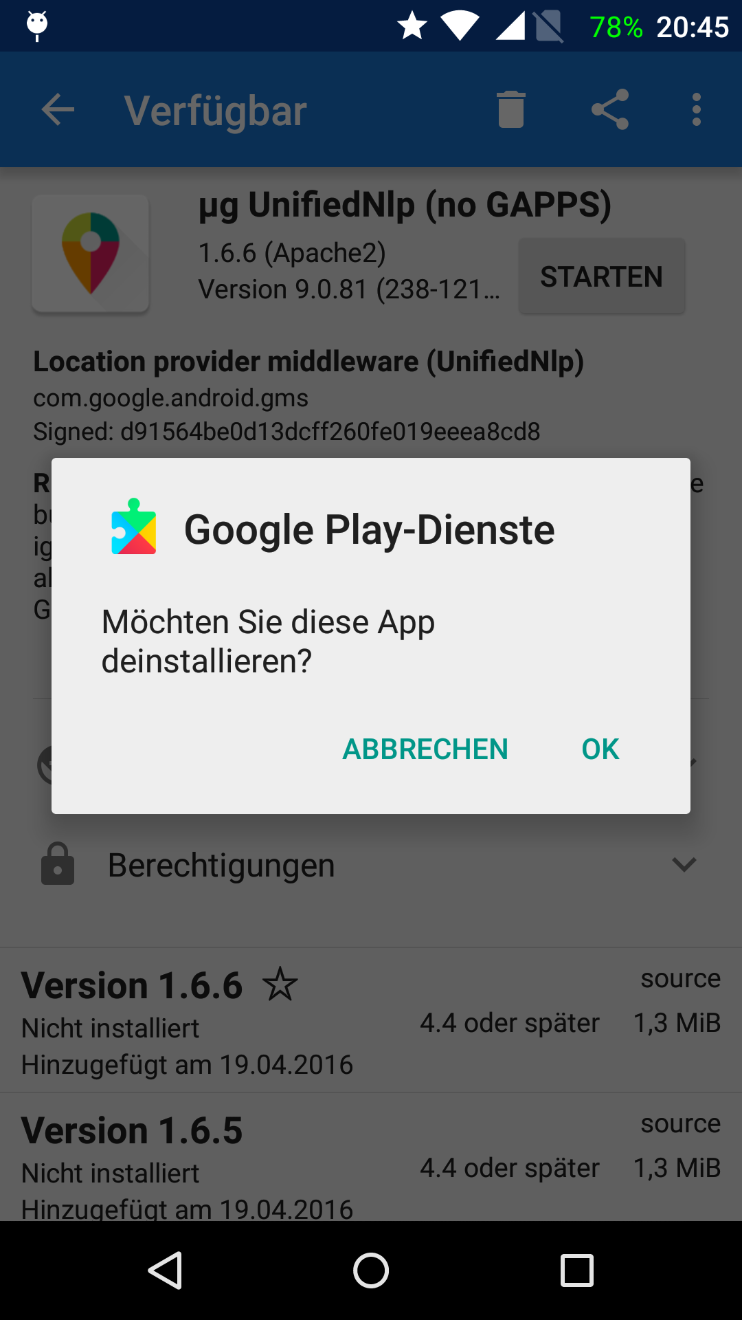 Location Service (GPS) issues with FP Open OS running OpenGAPPS and